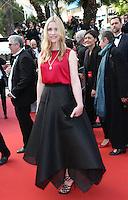 NATACHA RENIER<br /> MONTEE DES MARCHES DU FILM LA FILLE INCONNUE (THE UNKNOWN GIRL)<br /> RED CARPET OF THE MOVIE LA FILLE INCONNUE (THE UNKNOWN GIRL)<br /> 69 EME FESTIVAL DE CANNES
