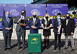 November 7, 2020 : Connections of Merneith, winner of the Qatar Fort Springs Stakes on Breeders' Cup Championship Saturday at Keeneland Race Course in Lexington, Kentucky on November 7, 2020. Bill Denver/Breeders' Cup/Eclipse Sportswire/CSM