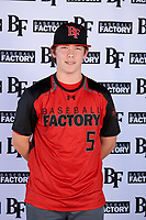 Adie Goodman (5) of Lamar School in Meridian, Mississippi during the Baseball Factory All-America Pre-Season Tournament, powered by Under Armour, on January 12, 2018 at Sloan Park Complex in Mesa, Arizona.  (Mike Janes/Four Seam Images)