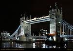 Tower Bridge, Bascule and Suspension Bridge, f/5.6, River Thames, London, England, UK