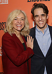 "Rachel Bay Jones and Steven Levenson attends the After Party for the Second Stage Production of ""Days Of Rage"" at Churrascaria Platforma on October 30, 2018 in New York City."