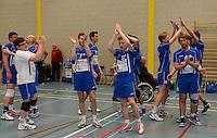 Knack Roeselare B - Doskom Moorslede : Knack B is kampioen in eerste provinciale heren<br /> foto VDB / BART VANDENBROUCKE