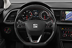 Car pictures of steering wheel view of a 2017 Seat Leon-ST FR 5 Door Wagon Steering Wheel