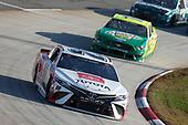 #20: Erik Jones, Joe Gibbs Racing, Toyota Camry Toyota Camry #21: Matt DiBenedetto, Wood Brothers Racing, Ford Mustang Motorcraft/Quick Lane