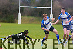 In Action Tralee RC Jack Quilter in the South Munster U18 match Tralee v Cobh Pirates at O'Dowd Park on Saturday