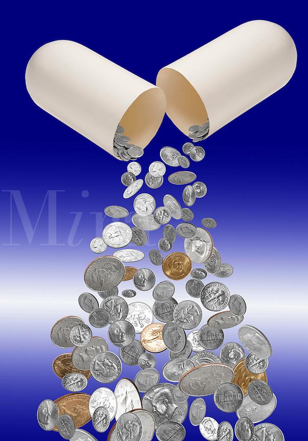 High cost of medicine.
