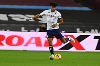 Tyrone Mings of Aston Villa during West Ham United vs Aston Villa, Premier League Football at The London Stadium on 30th November 2020
