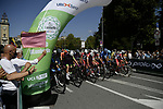 Ready to start the 114th edition of Il Lombardia 2020, running 231km from Bergamo to Como, Italy. 15th August 2020.<br /> Picture: LaPresse/Marco Alpozzi | Cyclefile<br /> <br /> All photos usage must carry mandatory copyright credit (© Cyclefile | LaPresse/Marco Alpozzi)