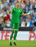 CD Leganes' Ivan Pichu Cuellar celebrates goal during La Liga match. August 18,2017.  *** Local Caption *** © pixathlon +++ tel. +49 - (040) - 22 63 02 60 - mail: info@pixathlon.de