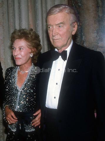 James Stewart & wife 1979<br /> Photo By John Barrett/PHOTOlink.net / MediaPunch