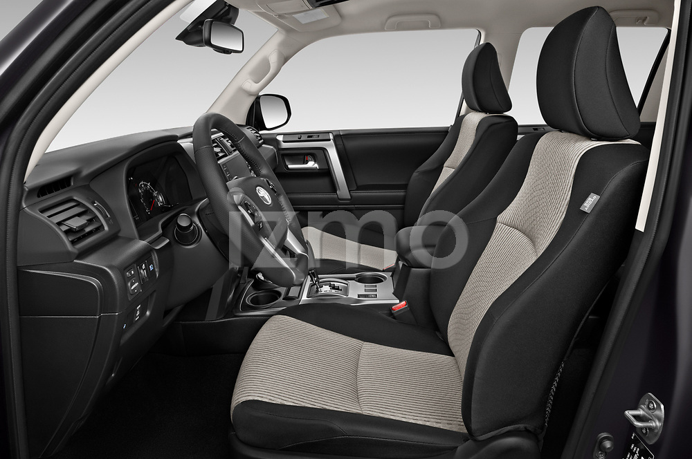 Front seat view of 2020 Toyota 4-Runner SR5 5 Door SUV Front Seat  car photos
