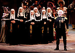 2005 - TOSCA - Scarpia (Richard Paul fink) sings with the chorus in act one of Opera Pacific's production of Tosca.