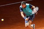 Grigor Dimitrov, Bulgaria, during Madrid Open Tennis 2015 match.May, 6, 2015.(ALTERPHOTOS/Acero)