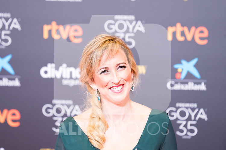 Maria Esteve attends the red carpet previous to Goya Awards 2021 Gala in Malaga . March 06, 2021. (Alterphotos/Francis González)