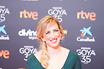 Maria Esteve attends the red carpet previous to Goya Awards 2021 Gala in Malaga . March 06, 2021. (Alterphotos/Francis González)