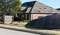 Marc Hayot/Herald Leader<br /> Severe storms ripped through Siloam Springs on early Monday morning.