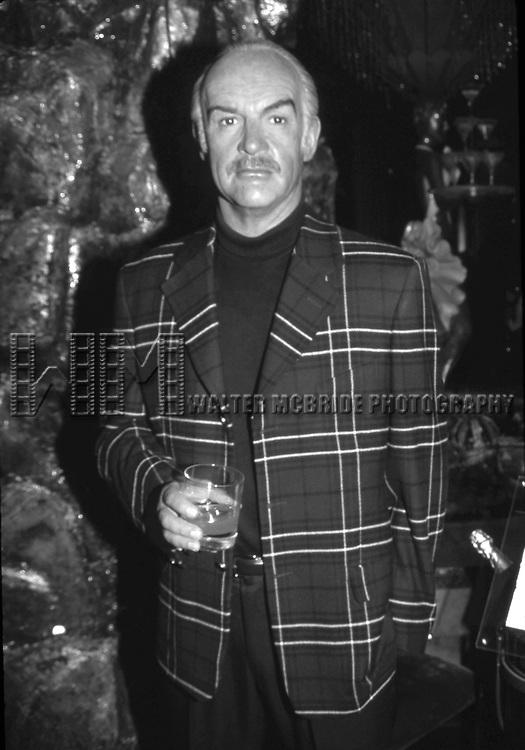 Sean Connery wax figure at Madame Tussaud Las Vegas on 12/30/1999