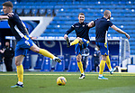 Rangers v St Johnstone…25.04.21   Ibrox.  Scottish Cup<br />David Wotherspoon and Shaun Rooney during the warm-up<br />Picture by Graeme Hart<br />Copyright Perthshire Picture Agency<br />Tel: 01738 623350  Mobile: 07990 594431