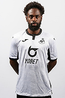 Nathan Dyer of Swansea City poses for a head shot at Fairwood Training Ground in Swansea, Wales, UK. Thursday 18, July 2019