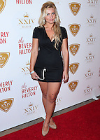BEVERLY HILLS, CA, USA - OCTOBER 16: Daniella McBride arrives at the XXIV Karat Launch Party held at the Beverly Hilton Hotel on October 16, 2014 in Beverly Hills, California, United States. (Photo by Xavier Collin/Celebrity Monitor)