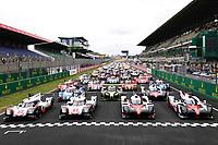 TEST DAY AT LE MANS (FRA) ROUND 2 FIA WEC 2017