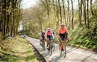 Greg VAN AVERMAET (BEL/CCC) up the Karnemelkbeekstraat<br /> <br /> 62nd E3 BinckBank Classic (Harelbeke) 2019 <br /> One day race (1.UWT) from Harelbeke to Harelbeke (204km)<br /> <br /> ©kramon