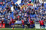 FC Barcelona's Luis Suarez Leo Messi and Neymar Santos Jr during the match of La Liga between Club Deportivo Leganes and Futbol Club Barcelona at Butarque Estadium in Leganes. September 17, 2016. (ALTERPHOTOS/Rodrigo Jimenez)