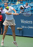 Flavia Pannetta (ITA) loses to Serena Williams (USA) 6-2, 6-2 at the Western & Southern Open in Mason, OH on August 14, 2014.