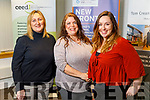 Lorraine Hanly (Hydrogen Power Ireland), Krista Clem O'Sullivan (Emerald Isle Growers and Skellig Sustanability Centre) and Clodagh Shannon (Nonna Diaries) are 3 start-up businesses getting funding from Enterprise Ireland tell us about their plans and the help the grant is providing, at the Tom Crean Business Centre.