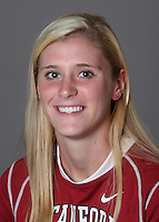 STANFORD, CA - OCTOBER 29:  Emilie Boeri of the Stanford Cardinal women's lacrosse team poses for a headshot on October 29, 2009 in Stanford, California.
