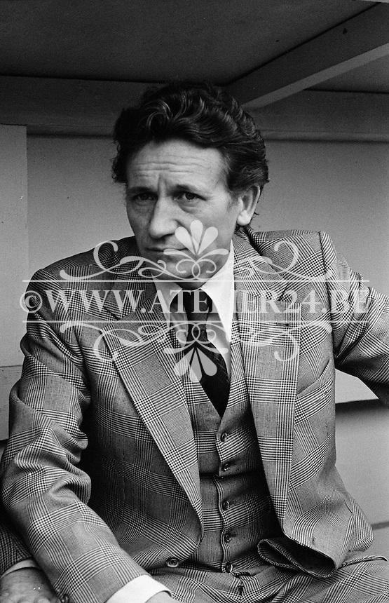 1977. RSC Anderlecht. Trainer Raymond Goethals.