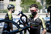 Adam Yates (GBR/Mitchelton-Scott) at the race start in Nice<br /> <br /> Stage 2 from Nice to Nice (186km)<br /> <br /> 107th Tour de France 2020 (2.UWT)<br /> (the 'postponed edition' held in september)<br /> <br /> ©kramon