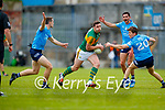 David Moran, Kerry in action against Michael Fitzimons, Dublin during the Allianz Football League Division 1 South between Kerry and Dublin at Semple Stadium, Thurles on Sunday.