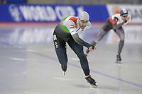 SPEEDSKATING: Calgary, The Olympic Oval, 07-02-2020, ISU World Cup Speed Skating, 1500m Men Division B, Konrád Nagy (HUN),  ©foto Martin de Jong