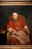 Europe/France/Corse/2A/Corse-du-Sud/Ajaccio: Portrait Posthume du Cardinal Fesch par Jules Pasqualini Boticelli (1855) au Musée Fesch