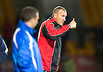St Johnstone v Inverness Caledonian Thistle.....25.04.11.Thumbs up from Terry Butcher.Picture by Graeme Hart..Copyright Perthshire Picture Agency.Tel: 01738 623350  Mobile: 07990 594431