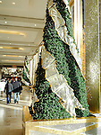 Christmas decorations at the Prudential Center, Boston, MA, USA