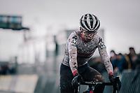 Tom Pidcock (GBR/TPR) post-race<br /> <br /> Superprestige cyclocross Hoogstraten 2019 (BEL)<br /> Elite Men's Race<br /> <br /> ©kramon