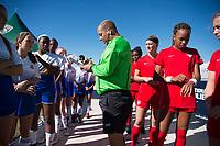 Lakewood Ranch, FL - December 10, 2017: 2017 Girls Development Academy Winter Showcase & Nike International Friendlies at Premier Sports Campus at Lakewood Ranch, FL.