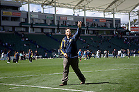 LA Galaxy head coach Bruce Arena. The LA Galaxy and DC United play to 2-2 draw at Home Depot Center stadium in Carson, California on Sunday March 22, 2009.