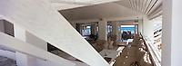 Iles Bahamas /Ile d'Eleuthera/Harbour Island/Dunmore Town: restaurant de Plage de l'Hotel Coral Sands