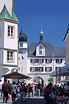Deutschland, Bayern, Oberbayern, Rosenheim (Altstadt): Städtisches Museum am Max-Josefs-Platz | Germany, Bavaria, Upper Bavaria, Rosenheim (old town): town museum at Max-Josefs-square
