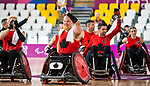 Zak Madell and Eric Rodrigues, Lima 2019 - Wheelchair Rugby // Rugby en fauteuil roulant.<br />