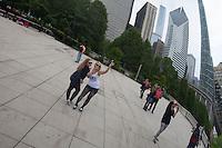 Usa,Illinois, Chicago,The Bean