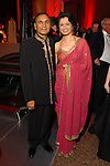 Suresh and Renu Khator at the Houston Grand Opera Ball at the Wortham Theater Saturday  April 05,2008. (Dave Rossman/For the Chronicle)