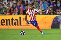 Orlando, FL - Wednesday July 31, 2019:  Renan Lodi #12 during the Major League Soccer (MLS) All-Star match between the MLS All-Stars and Atletico Madrid at Exploria Stadium.
