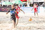 MOREIRA Ozu of Japan in action during the Beach Soccer Men's Team Gold Medal Match between Japan vs Oman on Day Nine of the 5th Asian Beach Games 2016 at Bien Dong Park on 02 October 2016, in Danang, Vietnam. Photo by Marcio Machado / Power Sport Images