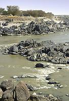 - northern Sudan, the fourth floodgate of Nile river<br /> <br /> - Sudan settentrionale, il fiume Nilo alla quarta cateratta