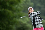 Ye-Na Chung of South Korea tees off during Round 1 of the World Ladies Championship 2016 on 10 March 2016 at Mission Hills Olazabal Golf Course in Dongguan, China. Photo by Victor Fraile / Power Sport Images