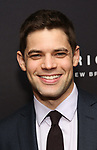 Jeremy Jordan attends the Broadway Opening Night After Party for 'AMERICAN SON' at Brasserie 8 1/2 on November 4, 2018 in New York City.